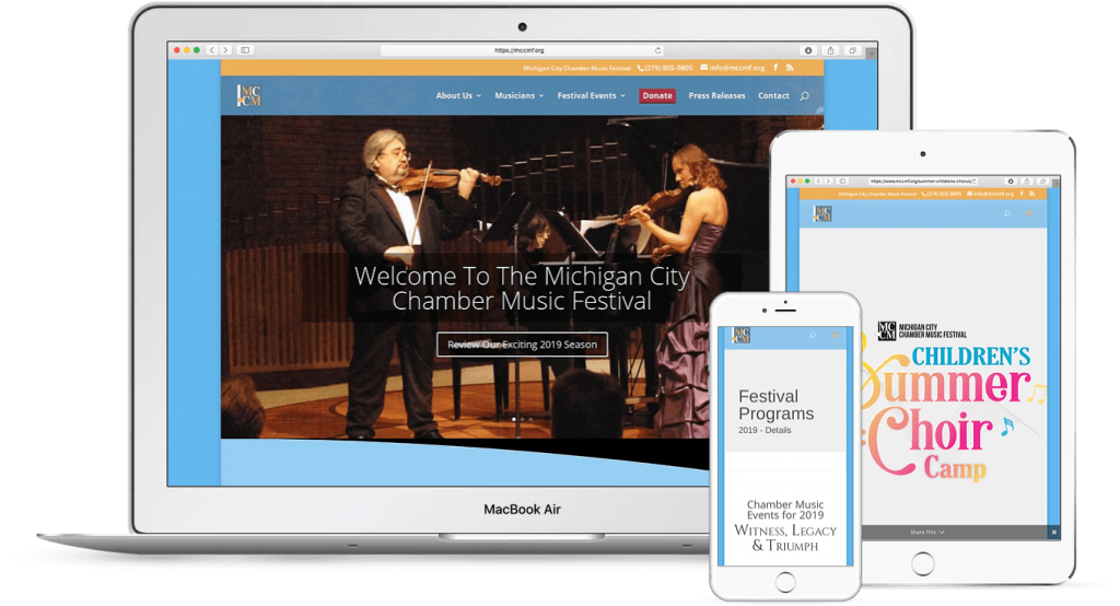Michigan City Chamber Music Festival-Responsive